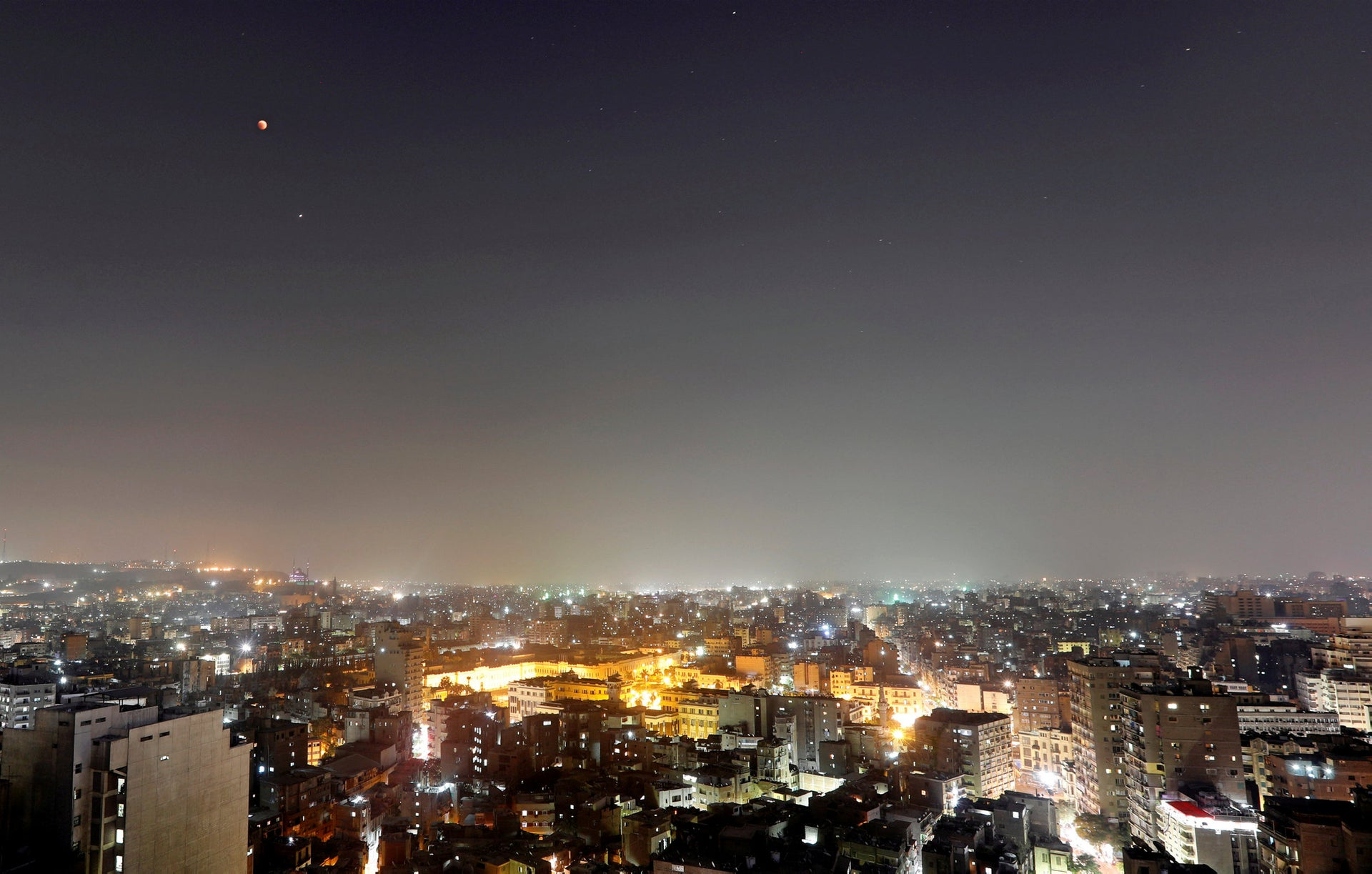 Cairo from above. Egypt has the dubious distinction of being one of the world's top-ranking countries in terms of illegal organ transplants.
