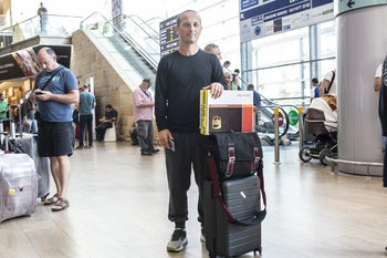 Golan Raz, 43, from Tenafly, New Jersey: 'I had to make a living here, so I founded a startup.'