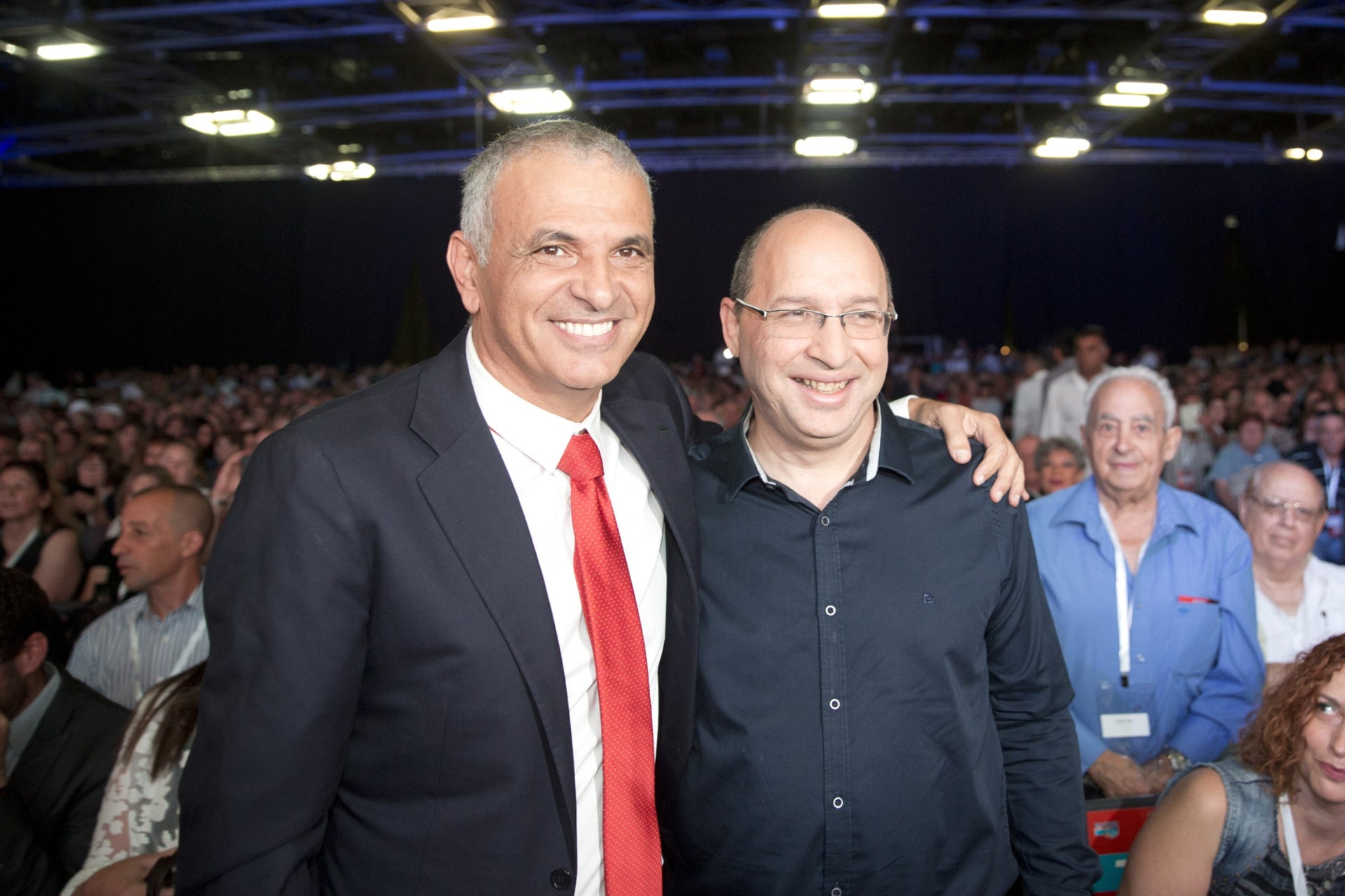 New Histadrut Chairman Avi Nissenkorn and Finance Minister Moshe Kahlon. Their political love affair got a steroid injection back in July 2017.