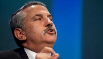 Thomas Friedman, author and columnist for the New York Times, in New York, U.S., September 22, 2010