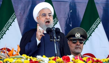 Iranian President Hassan Rohani in the capital Tehran on September 22, 2018