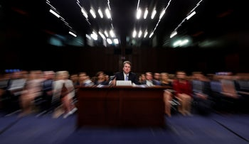 File photo: President Donald Trump's Supreme Court nominee, Brett Kavanaugh testifies before the Senate Judiciary Committee on Sept. 6, 2018