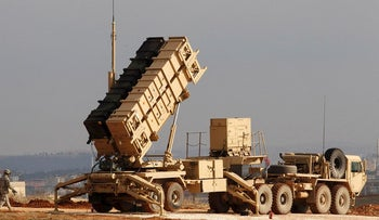 A U.S. Patriot missile system is seen at a Turkish military base in Gaziantep in this file photo taken February 5, 2013