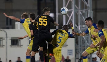 A game between F.C. Ashdod and Maccabi Tel Aviv, March 3, 2018