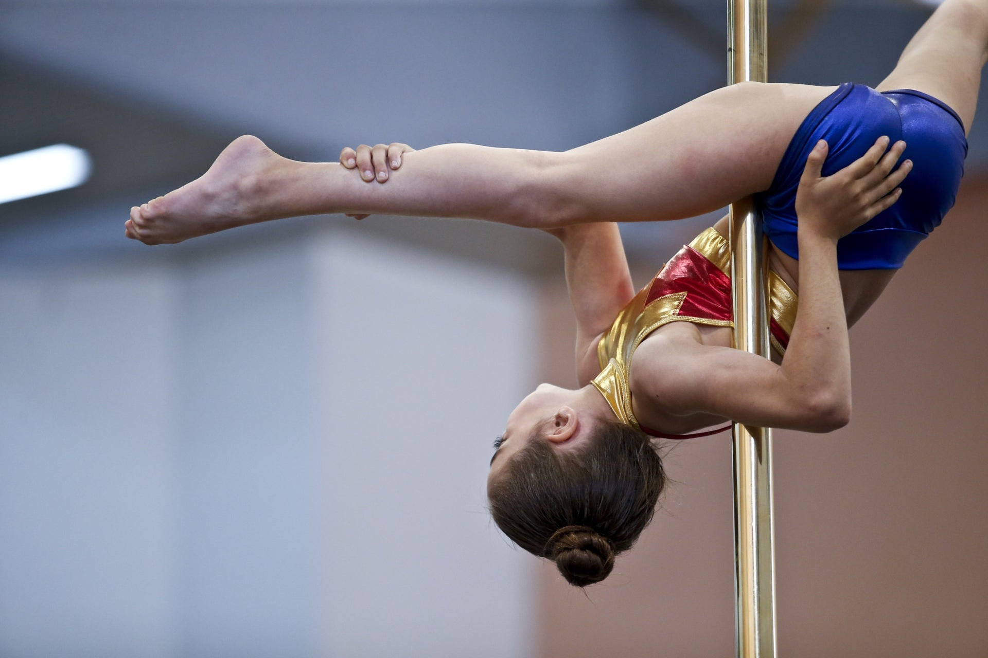 'Why not classical ballet?' I suggested, 'Or modern dance?' No, she shot back: Dancing on a pole.