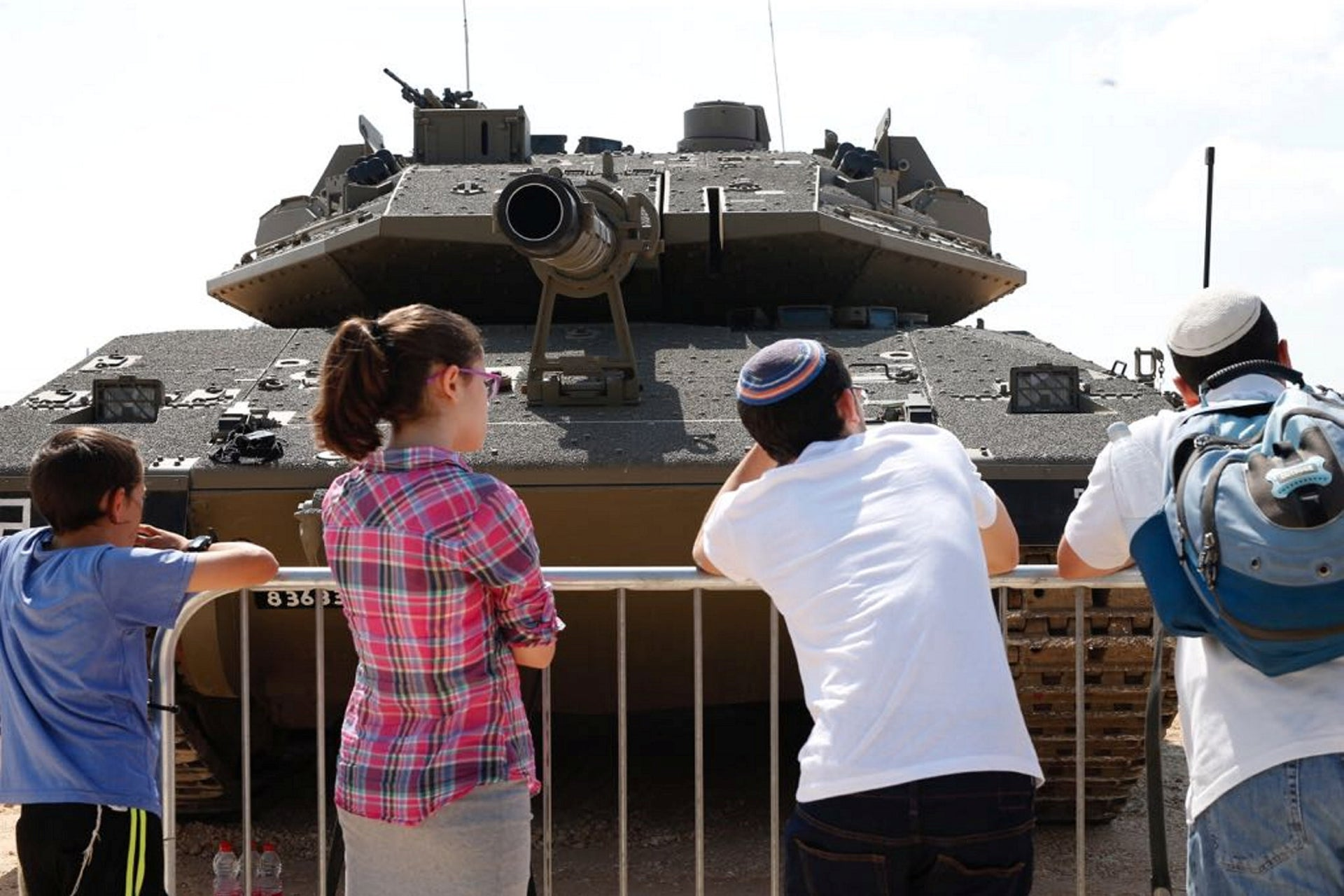 'Our IDF' exhibition in Holon. An army that's proud of its force but prefers not to explain how and where it exerts it