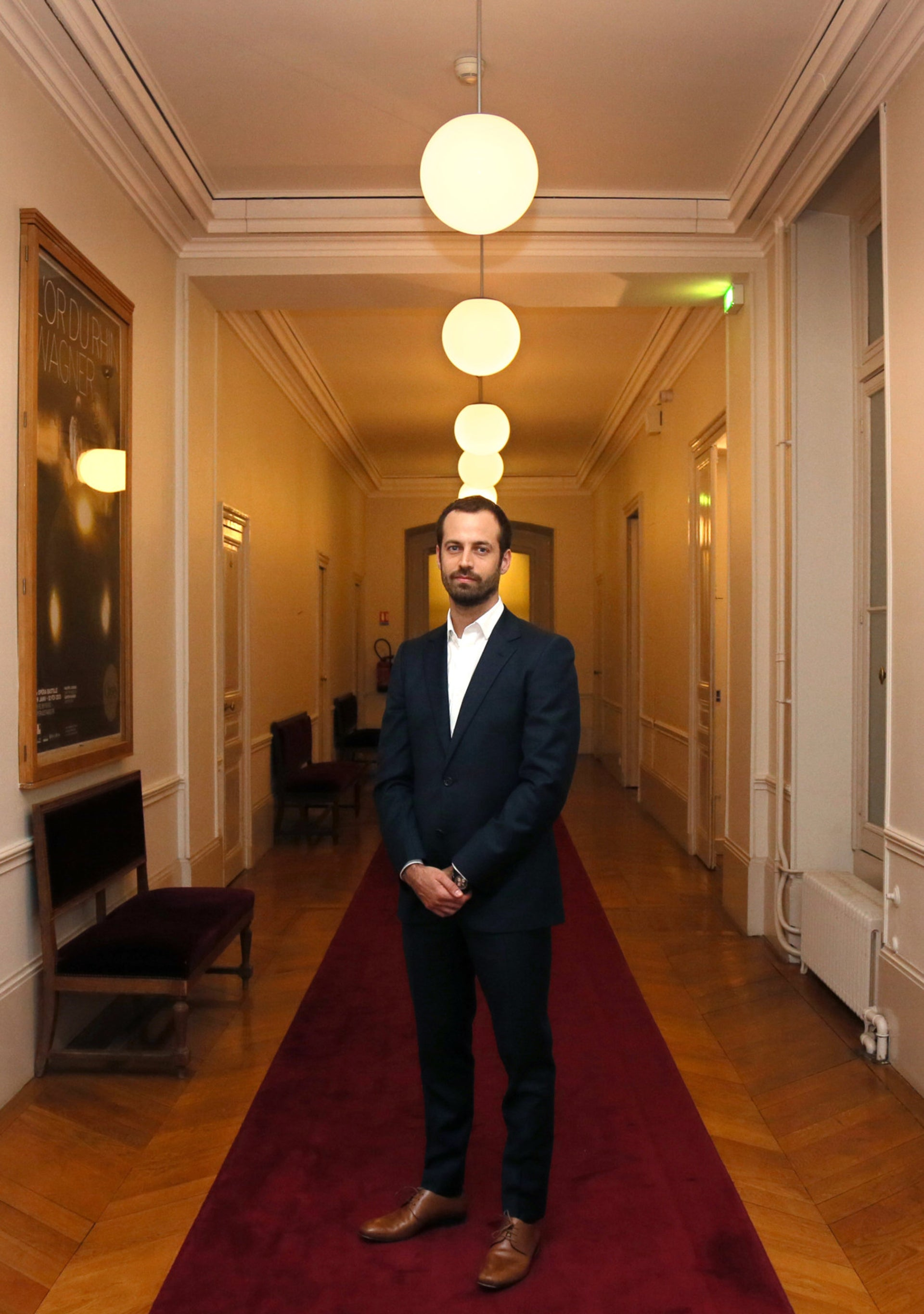 Benjamin Millepied says he's 'not going to stop performing art in any place in which it's needed'