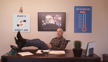 Gary Trauner in a campaign video