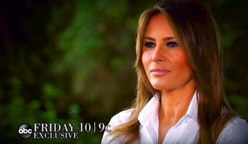 ABC teases 'no questions off limits' interview with Melania Trump