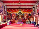 Interior of the buddhist temple 'Wat Mahawan'