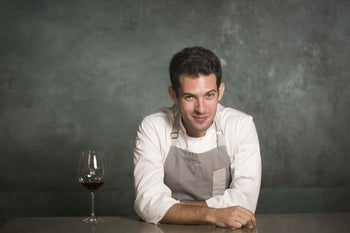 Raz Rahav, the chef of the year, according to the 2018 Gault & Millau restaurant guide to Israel.