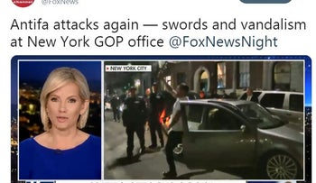 Fox News mistakes Proud Boys co-founder for Antifa in New York City violence