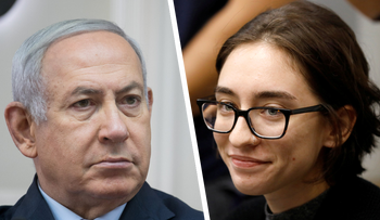 Prime Minister Benjamin Netanyahu and Lara Alqasem. Netanyahu's cabinet has proven time and again that the expediency of local politics always takes precedence over Israel's international standing.