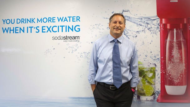 SodaStream CEO Daniel Birnbaum. The company was recently bought by PepsiCo for $3.2 billion