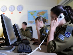 File photo: Israeli soldiers
