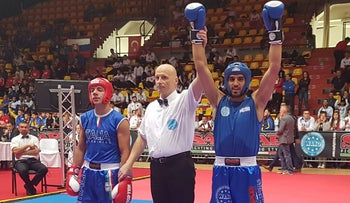 Amir Assad wins the European Kickboxing Championship in Slovakia, October 2018