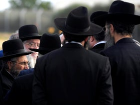 File photo: Chief Rabbinate officials in Israel.