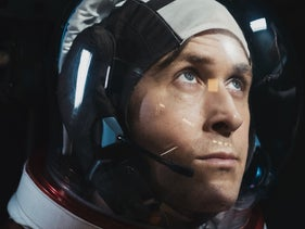 "Ryan Gosling as Neil Armstrong in ""First Man."" Insulated within himself."
