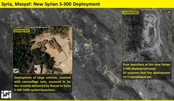 Satellite images of the s-300 batteries