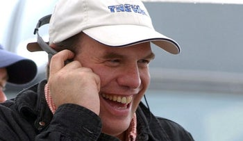 'The Duece' co-creator David Simon on the set of 'The Wire' in 2002.