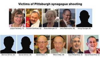 The victims of the Pittsburgh synagogue shooting.