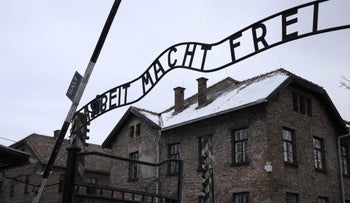 FILE Photo: The Auschwitz-Birkenau concentration camp in Poland, February 28, 2018.
