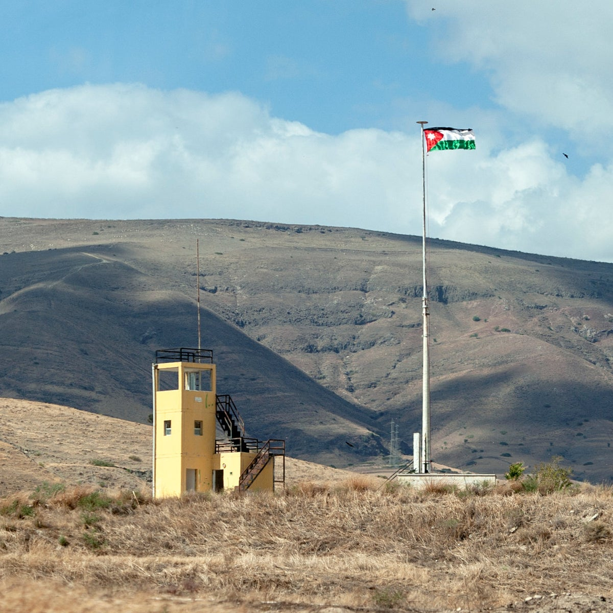 "The Jordanian flag flies high above Naharayim. ""That flag wasn't there a few days ago,"" Orna Shimoni told Haaretz in late October."