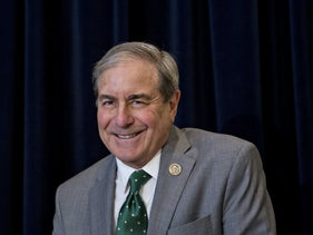 Rep. John Yarmuth, a Democrat from Kentucky's 3rd Congressional District, in Washington, March 16, 2017.