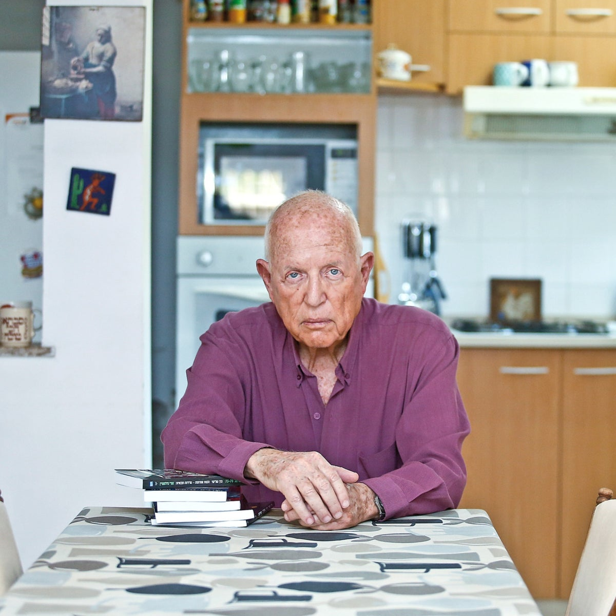 """Uri Milstein. """"At the strategic level there's no one who was worth anything in the whole history of the IDF."""""""