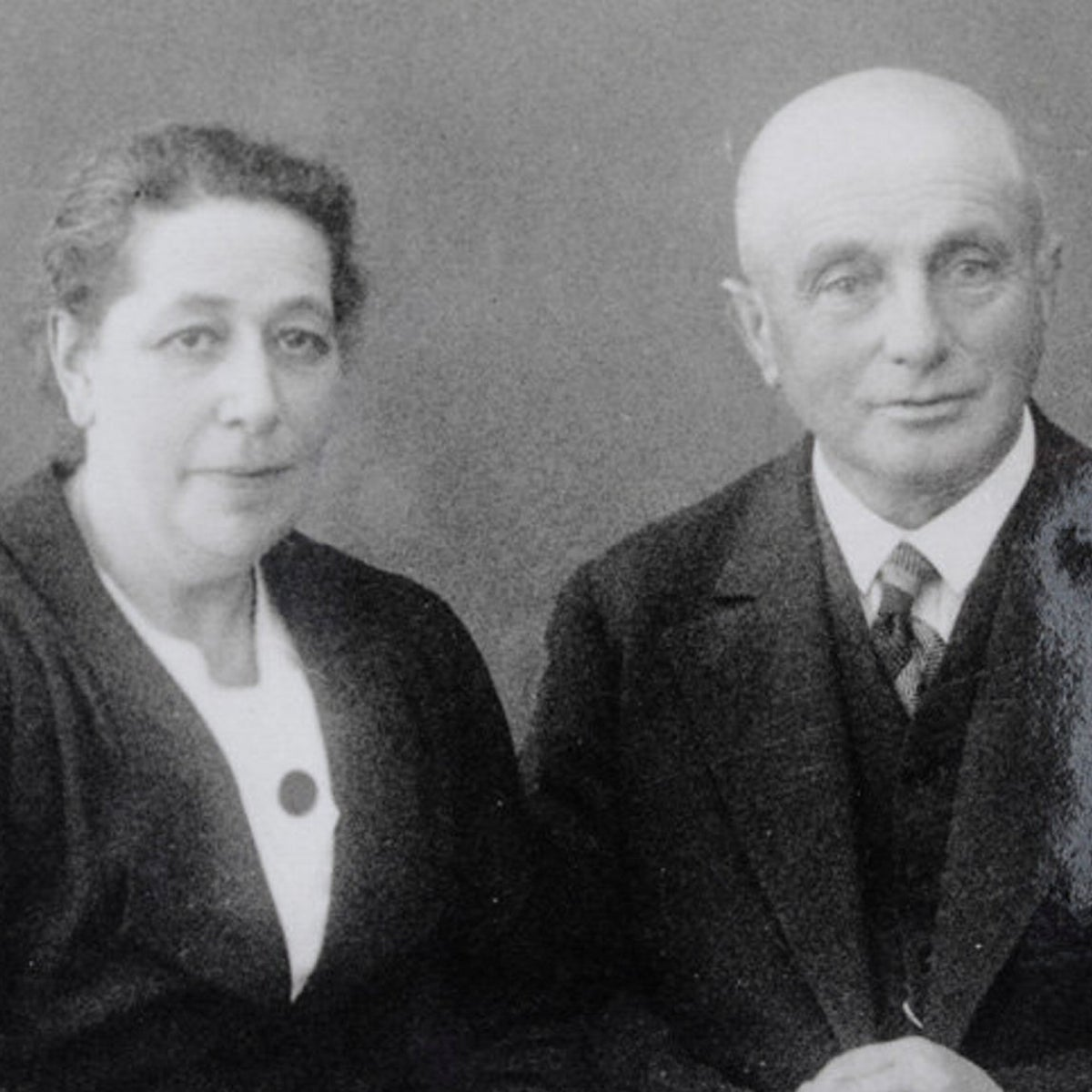 Josephine and Leopold Bähr in the 1930s.