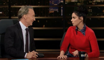 Sarah Silverman on HBO's 'Real Time with Bill Maher'