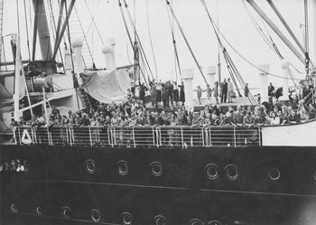 Refugees arrive in Antwerp on the MS St. Louis after over a month at sea, during which they were denied entry to Cuba, the United States and Canada, 17th June 1939.