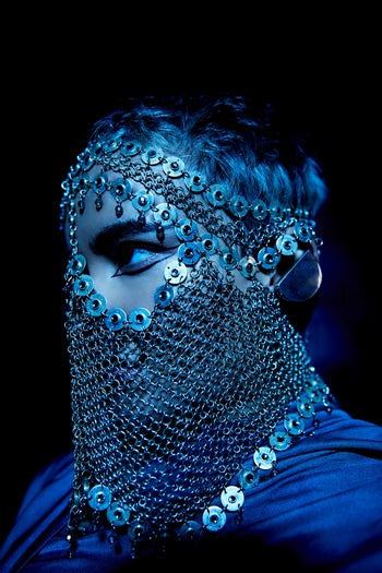 """Gola in the video for her debut English-language single """"The Line."""""""