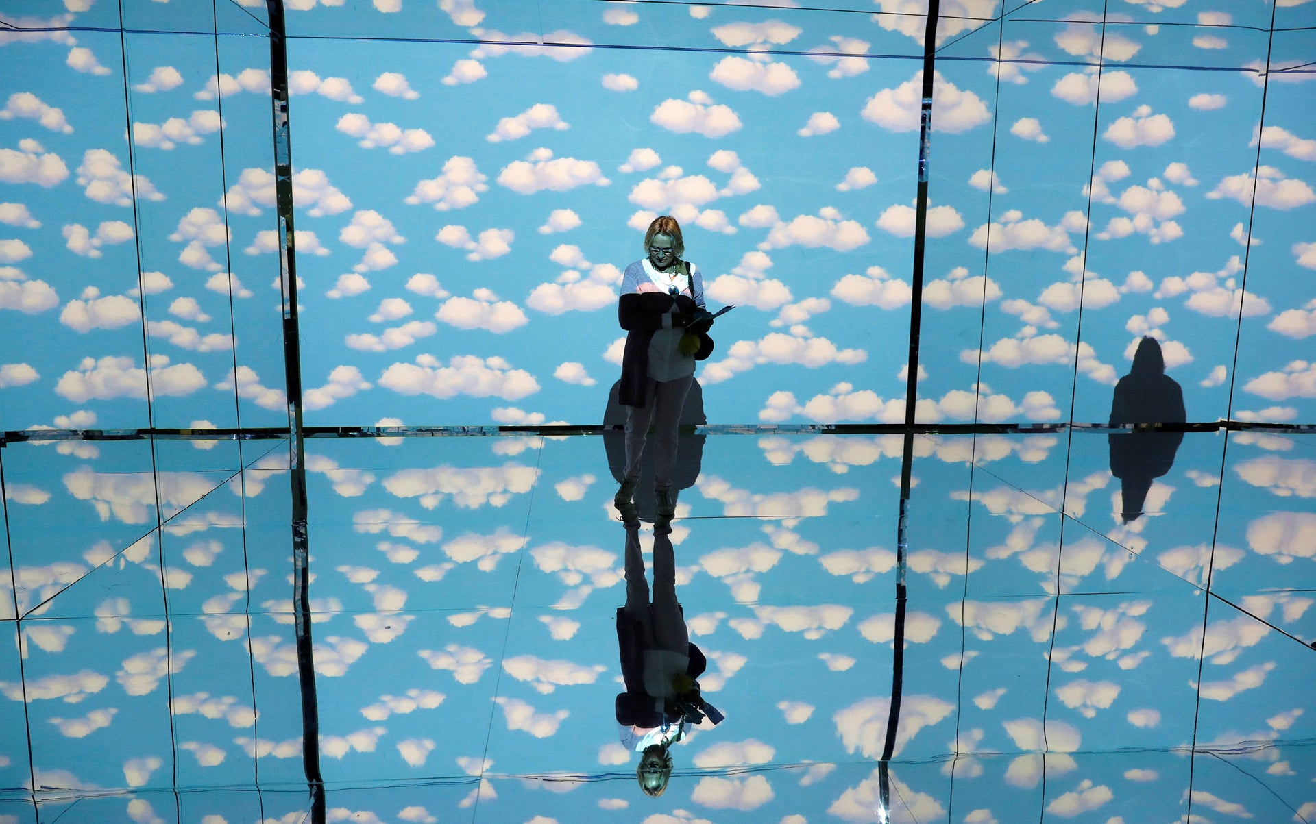 """A multimedia exhibition dedicated to Belgian artist Rene Magritte, in Milan. According to Noah Harari, since the language revolution, there is no such thing as a """"natural way of life."""" There are only different cultural choices from a vast range of possibilities."""