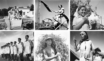 Photos of pre-state Israel from the Central Zionist Archives