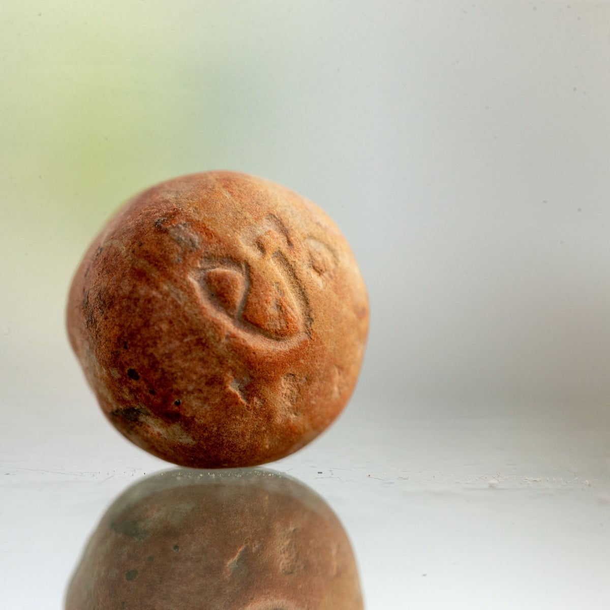 Weight that may have been used in the First Temple found in Jerusalem sifting project