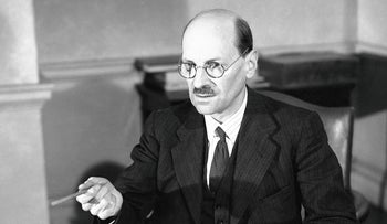 U.K. Prime Minister Clement Attlee, August 15, 1941.