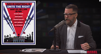 Gavin McInnes discuss the Unite the Right rally in a program entitled: Who is REALLY to blame for Charlottesville? August 2017