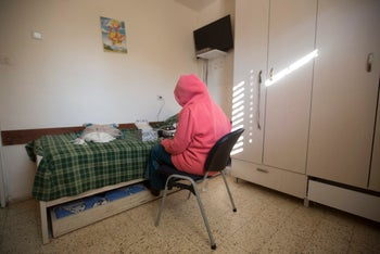 A battered women's shelter in 2016.