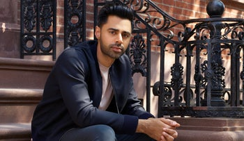 "Hasan Minhaj, host of Netflix's ""Patriot Act."""