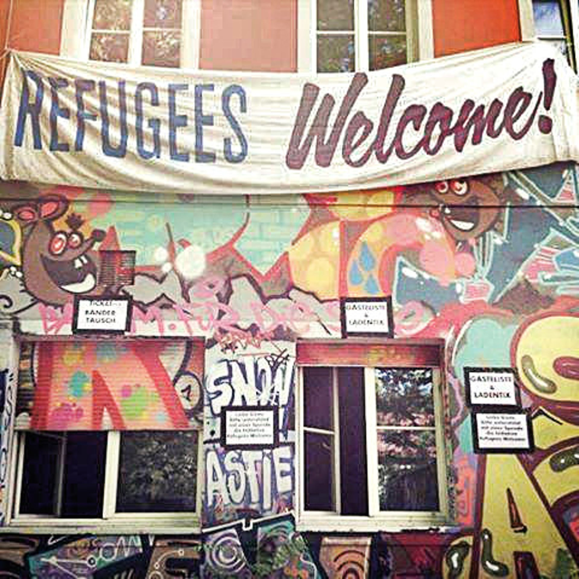"The Conne Island clubhouse in Leipzig, Germany. ""Our plan to integrate young refugees by way of joint celebrations alone proved naive."""