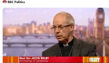 'Christian face imminent extinction in the Middle East,' says Archbishop of Canterbury