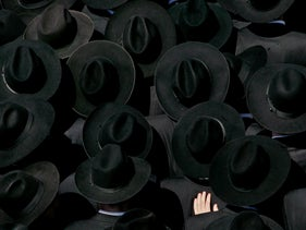 File photo: Ultra-Orthodox Jewish during the funeral of prominent Jewish Rabbi Shlomo Wolbe, Jerusalem, April 26, 2005.