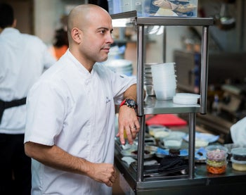 Chef Meir Adoni. His restaurants were ranked as the best in the country.