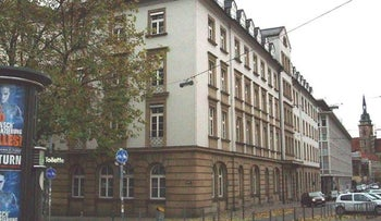 "File photo: ""Hotel Silber,"" once one of around 20 Gestapo headquarters in Nazi Germany, Stuttgart, Germany."