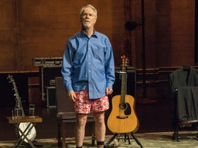 """Loudon Wainwright III in his Netflix special, """"Surviving Twin."""""""