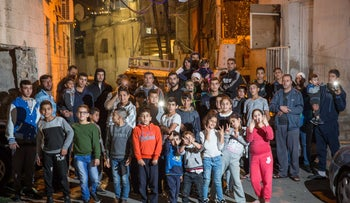FILE Photo: Residents of Silwan in East Jerusalem.