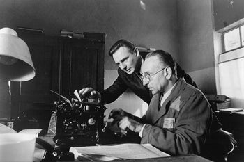 """Liam Neeson and Ben Kingsley in a scene from """"Schindler's List."""""""