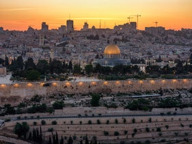 File photo: The Dome of the Rock is seen in a wide view of Jerusalem.