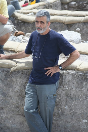 Prof. Israel Finkelstein, an archaeologist from Tel Aviv University and a member of the National Academy of Sciences.